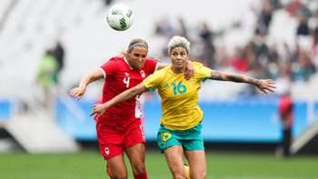 Gallery: Australia plays Canada at the Games