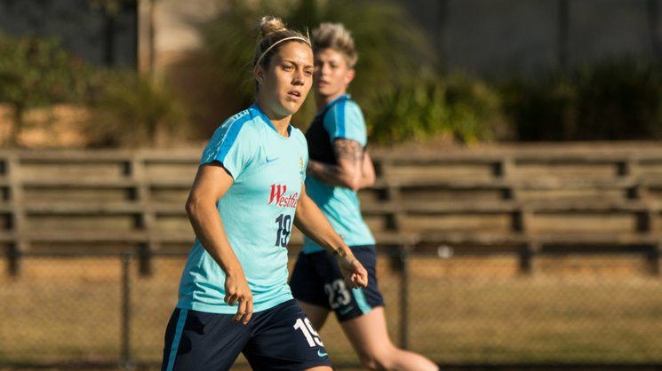 Star midfielder Katrina Gorry says there'll be no resting on their laurels for the Westfield Matildas against Brazil.