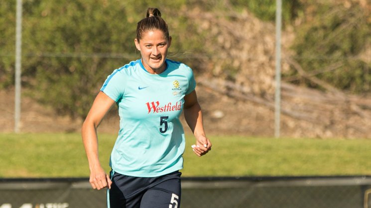 Westfield Matildas star Laura Alleway admits she's a little nervous ahead of the clashes with Brazil.