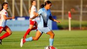 Sam Kerr. Pic courtesy of Sky Blue FC Twitter.