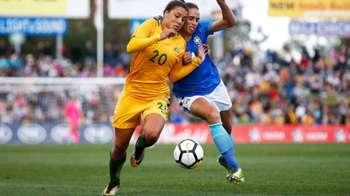 Gallery: Westfield Matildas wow the fans in Penrith
