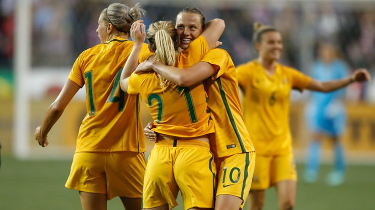 There was a huge reaction to news of the Westfield Matildas v Brazil sell-out.