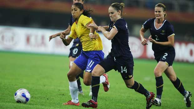 Matildas v Brazil 2007 World Cup