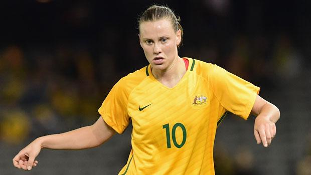 Matildas midfielder Emily Van Egmond
