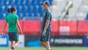 Westfield Matildas coach Alen Stajcic.