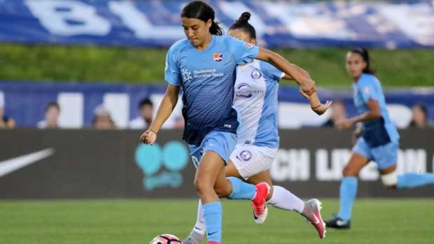 Sam Kerr helped Sky Blue FC snap a two-game losing streak but the news wasn't as good for some of her Westfield Matildas teammates.