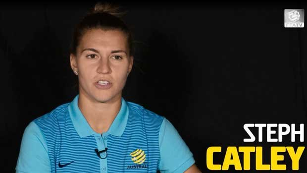 Steph Catley and her Westfield Matildas teammates answer some quickfire questions.
