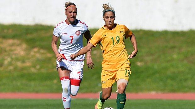 Westfield Matildas star Katrina Gorry has signed with Japanese club Vegalta Sendai.