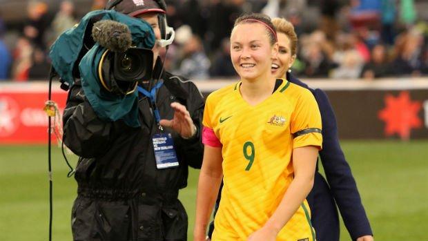Westfield Matildas star Caitlin Foord.
