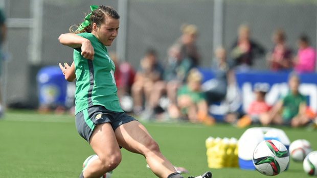 Hayley Raso is relishing a return to the national team fold with the Westfield Matildas.