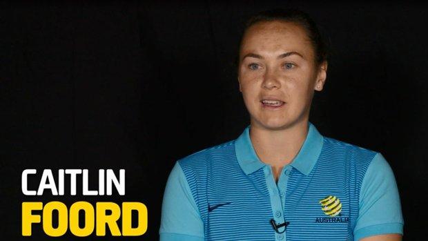 Westfield Matildas attacker Caitlin Foord.