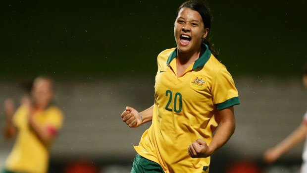 Sam Kerr has been in scintillating form in the USA with Sky Blue FC.