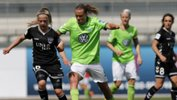 Emily van Egmond claiimed the German Cup final overnight with her club VfL Wolfsburg.