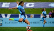 Sam Kerr netted a hat-trick over the weekend. Image: Sky Blue FC.