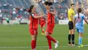 Hayley Raso netted for Portland over the weekend. Image: Portland Thorns.