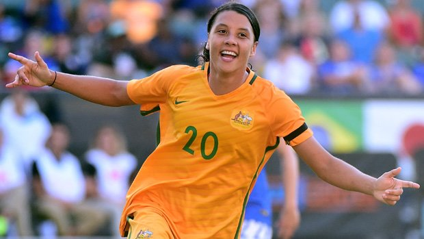 Sam Kerr has been shortlisted for the World Player of the Year award.