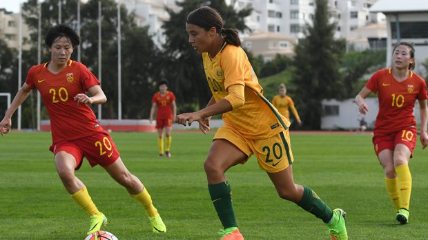 Sam Kerr has been on fire for both club and country.