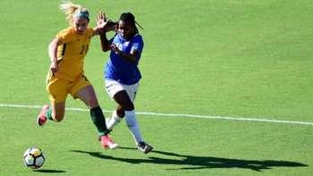 Gallery: Matildas turn on the style against Brazil
