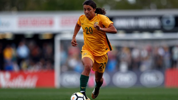 Wesfield Matildas star Sam Kerr has been overlooked for the shortlist for this year's Best FIFA Women's Player 2017.