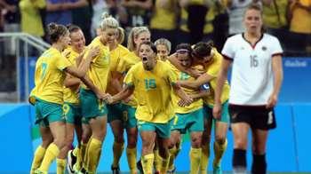 Gallery: Australia versus Germany