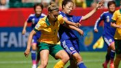 Steph Catley will feature on the cover of FIFA 16.