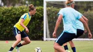 Gallery: Matildas train ahead of Brazil clash
