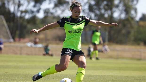 Canberra United's Grace Maher has been called up to the Westfield Matildas for a training camp at the AIS.