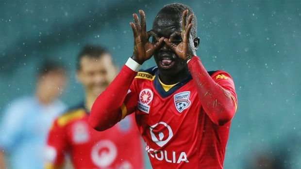 Former Adelaide United flyer Awer Mabil is part of a 22-player Australian development squad that is heading to Spain for a training camp from March 20-28.