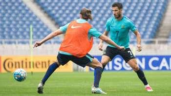 Gallery: Caltex Socceroos' final session before Japan
