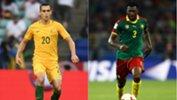 Socceroos v Cameroon.