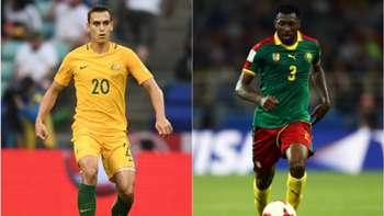 Top 10 stats: Australia v Cameroon