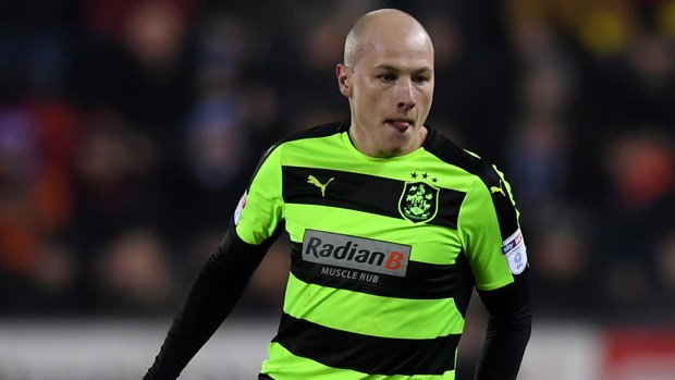 Huddersfield Town and Caltex Socceroo midfielder Aaron Mooy has been named in the Championship Team of the Season.