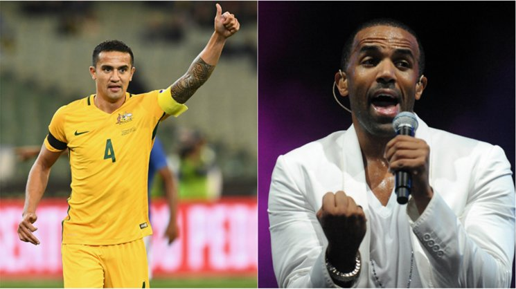 Game day music is huge for Caltex Socceroos striker Tim Cahill, including a little bit of Craig David.
