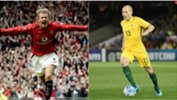 Growing up Caltex Socceroo Aaron Mooy tried to emulate the likes of Manchester United superstar David Beckham.