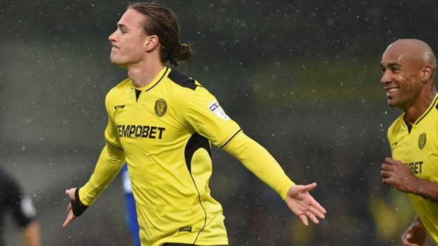 Jackson Irvine has enjoyed a superb season in the English Championship with Burton Albion.