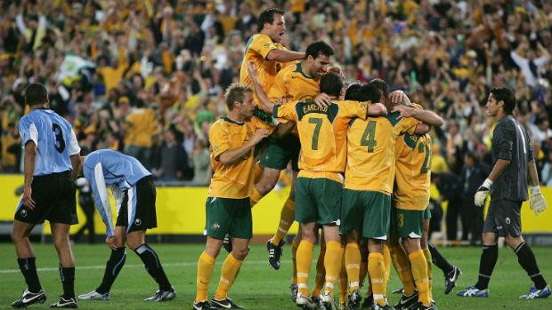 Socceroos v Uruguay