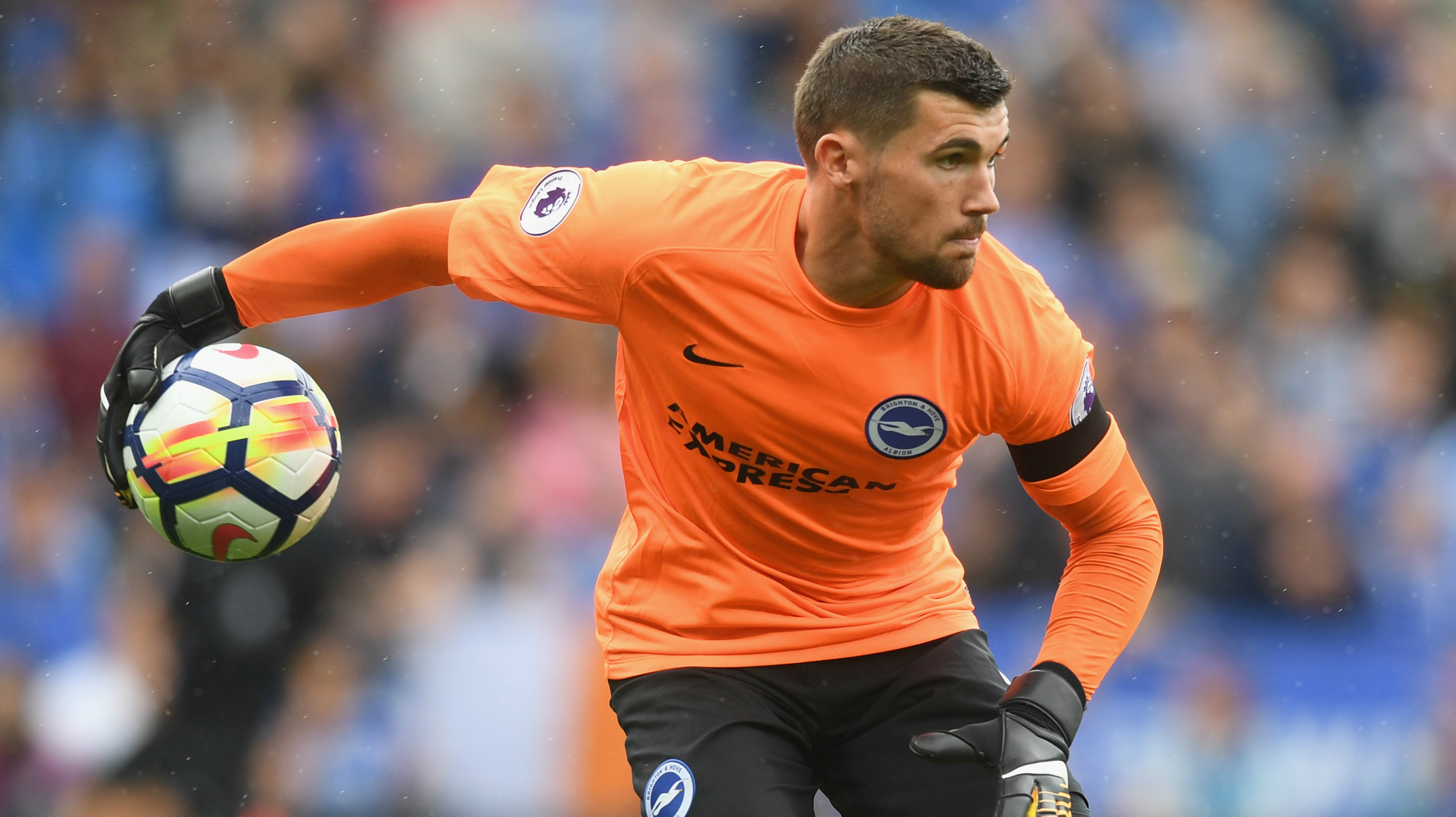 Ryan beaten inside first minute as Leicester down Brighton