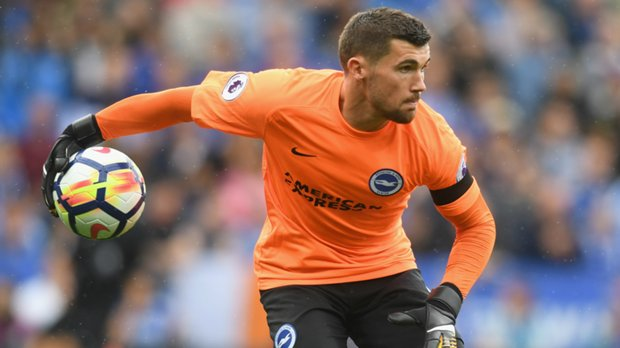Mat Ryan played another full game in Brighton's 2-0 EPL loss to Leicester City.