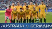 Caltex Socceroos starting XI against Germany.
