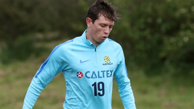 Craig Goodwin has been named in the 30-man Caltex Socceroos squad to face Syria.