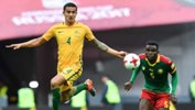 Caltex Socceroos striker Tim Cahill pointed to a more composed performance by Australia in their 1-1 draw with Cameroon.