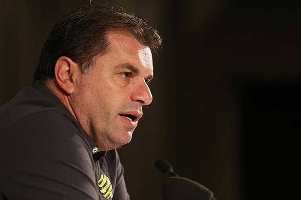 Socceroos coach Ange Postecoglou has announced Australia's squad for the 2014 FIFA World Cup.