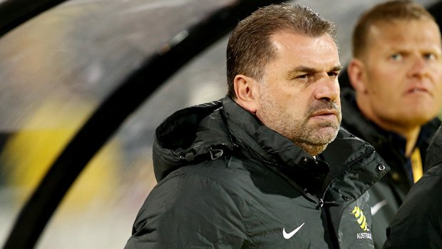 Ange Postecoglou says he's looking for a complete performance from Australia against Germany.