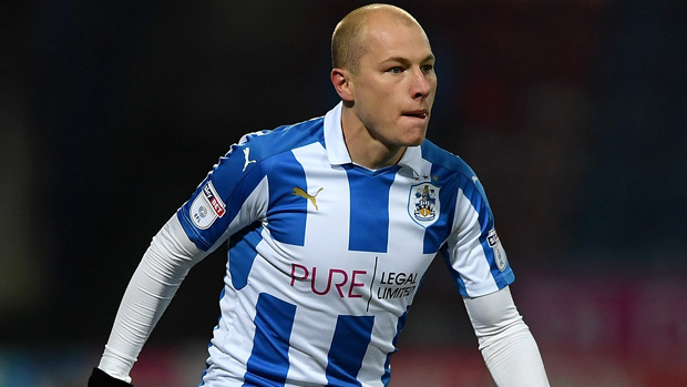Huddersfield Town midfielder Aaron Mooy.