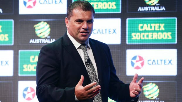Caltex Socceroos Head Coach Ange Postecoglou.