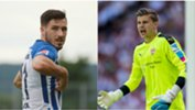 Caltex Socceroos Mathew Leckie and Mitch Langerak are set to face off in the Bundesliga this weekend.