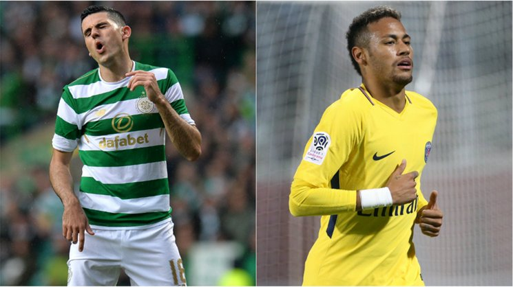 Caltex Socceroo Tom Rogic will line-up against Neymar's PSG in the first group match of the UEFA Champions League on Wednesday.