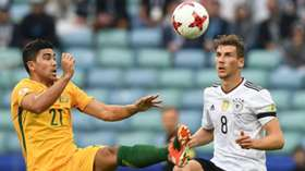 Gallery: Germany edge out Caltex Socceroos