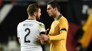Top 10 stats: Australia v Germany