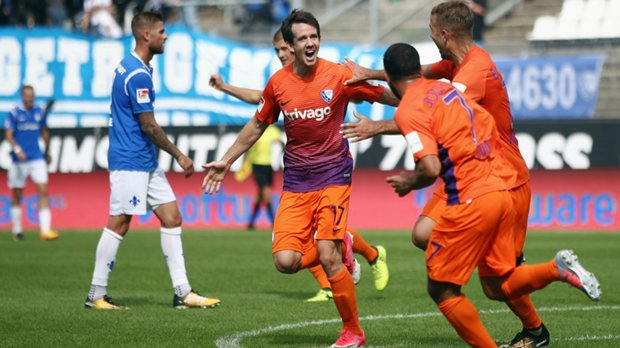 Robbie Kruse scored in a third straight game for Vfl Bochum overnight.